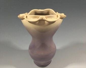 Purple Porcelain Vase
