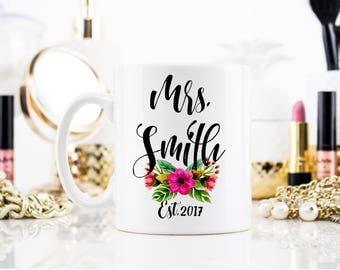 Custom Bride Mug, Bride to Be Mug, Bride Mug, Engagement Gift, Wedding Mug, Personalized Bride Gift, Coffee Mug, Wedding Gift, Personalized