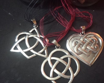 Large Celtic knots, paganism, pagan jewelry