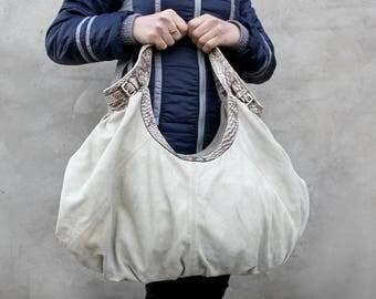 Vintage tote leather bag leather Handbag suede Purse women handbag leather purse Diaper Bags hobo bag boho bag Shoulder Bag