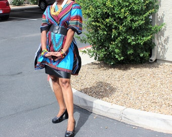 Bluety Dashiki top, Bluety elastic Dashiki shirt, Bluety classic dashiki dress, class dashiki top, African, robe africaine, tissus Africain