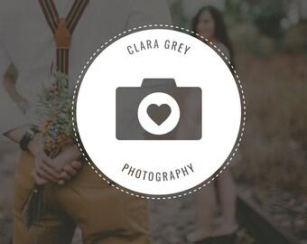 Camera Logo Design |Photography Logo and Watermark | Photography Logo | Photography Watermark | Photography Premade Logo | Watermark Design