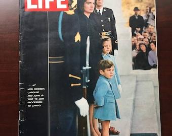 Life Magazine December 6, 1963  John F Kennedy Funeral