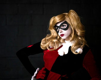 Harley Quinn - Bubbles Wig - Natural Blonde