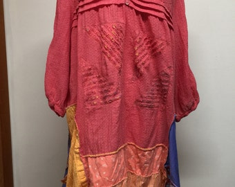 Upcycled tunic or dress