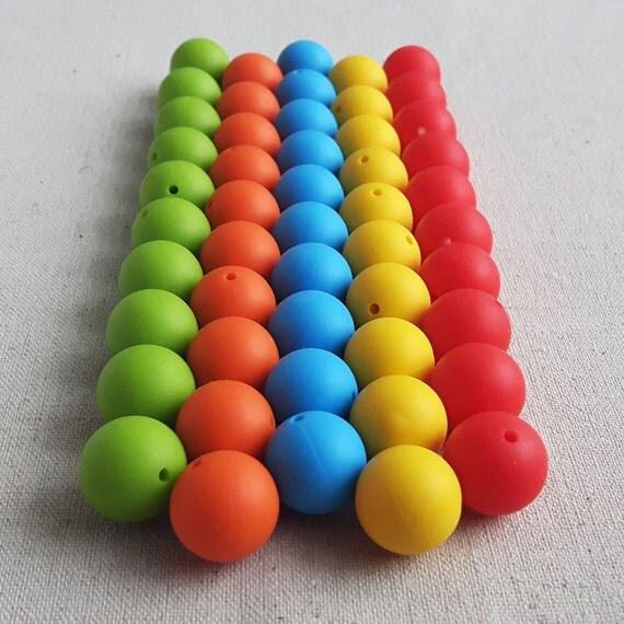 Basket Weaving Supplies Winnipeg : Mm pcs silicone beads set mixed bulk mix lot