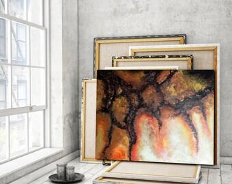 ORIGINAL PAINTING 48x36 XLarge Canvas Art Abstract Painting Gold Painting Acrylic Painting Original Art Wall Art Modern Art Gold Abstrac