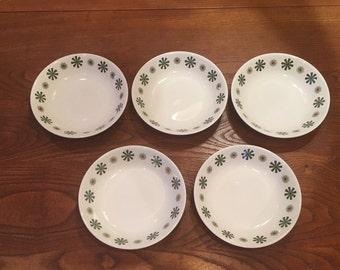 5 Snowhite Johnson Bros Ironstone Bowls
