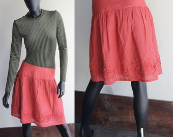 Vintage 80s Williwear Skirt Size 8
