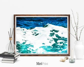 Ocean Photography, Ocean Wall Art, Ocean Water Wall Art, Ocean Print, Water Poster, Ocean Wave, Beach Art Print, Water Print, Sea Art Print