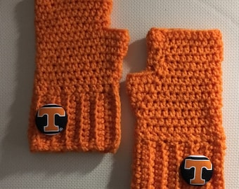 Tennessee Vols Fingerless Texting and/or driving gloves