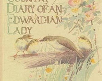 8 Randomly Selected Pages From The Country Diary of An Edwardian Lady Nature Botanical Plant British Wildlife Book