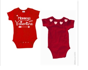 Mommy's Little Valentine Onesie