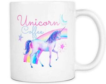 Unicorn mug, rainbow unicorn mug, unicorn coffee mug, rainbow mug, rainbow unicorn art, unicorn farts, unicorn coffee cup, unicorn cup