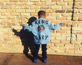 Kids Custom Denim Jacket