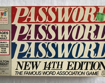 Password Game 14th Edition
