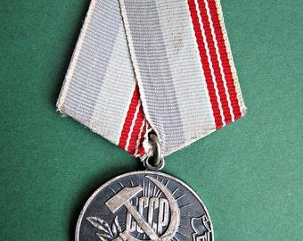 Veteran of Labour Medal, USSR, Soviet Russia, 1974