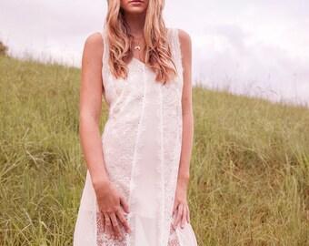 NEW! Boho Wedding Dress Beach | Bohemian Lace Wedding Dress | Romantic Bohemian Dress
