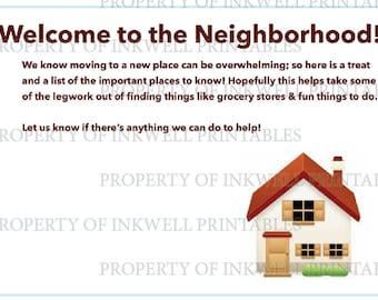 Welcome Neighbor Packet