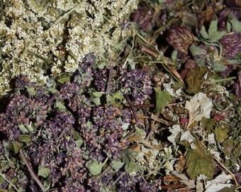 Herbal tea, Dried herbs, Healthy, Anti cold tea, Tea blends, Organic tea, Natural, Organic dried flowers, Flower tea, Organic herbal tea
