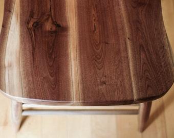 Salvaged Walnut Chairs (single)