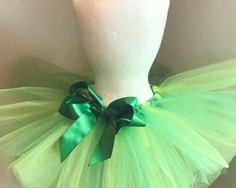 Green Tutu with bow
