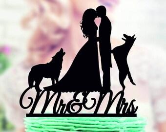 Dog Cake Topper Wedding Favorite Animal With Pets Animals