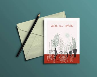 We're All Dying - Card Set
