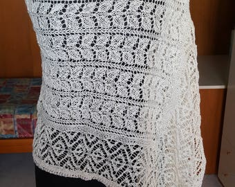 Victorian lace scarf.