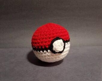 Amigurumi - Pokeball Pokemon