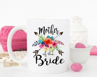 Bride Mother Gift, Bride Gift to Mother, Wedding Mug, bridal party gift, Mother of the bride gift, Mother of the bride mug