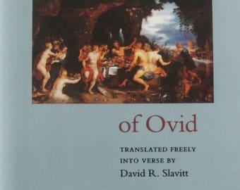 The Metamorphoses of Ovid. David R. Slavitt.