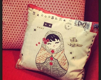 Kids cushion Happy Babooshka