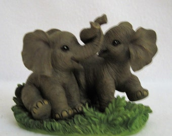 African Elephants at Play - The Hamilton Collection  # 1416936