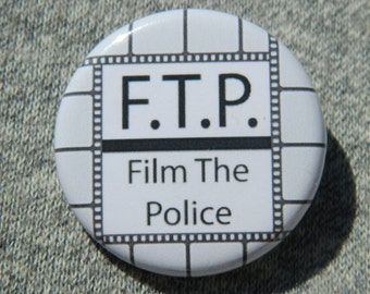 F.T.P. Film The Police - Button - Magnet - Bottle Opener FTP