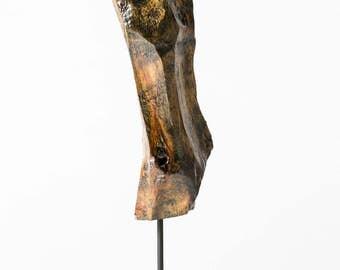 Figurative Wood Sculpture Pine #1