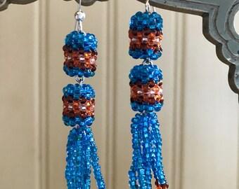 Lakota Beaded Earrings