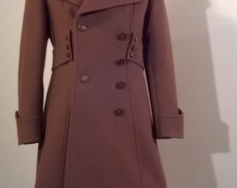 1970's fitted camel coat
