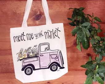 Meet Me at the Market Tote