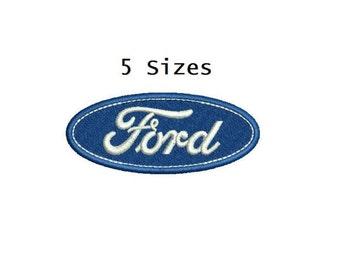Car emblem 5sizes Digitized filled Machine Embroidery Design Digital Download