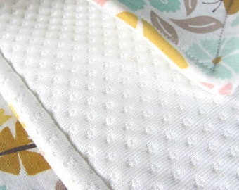 1/2 Yard, Diaper Sewing Supply, Absorbent Fabric, Zorb Polyester, Diaper Making Fabric