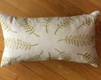 Blush Fern Pillow