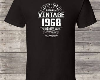 Genuine Premium Vintage since 1968, 49th birthday gifts for women, 49th birthday gift, 49th birthday tshirt, gift for 49th Birthday for Men