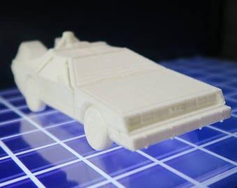 DeLorean DMC - 12 back to the future - articulated