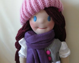 Alexia by Malina Dolls - New Unique Handmade Doll