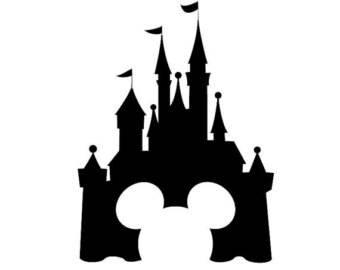 Disney Castle Car Decal