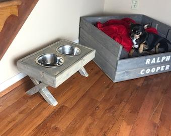 2 Sides Pet Bowl | Dog Bowl | Cat Bowl