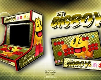 "BigBoy 2 players ""Pac - Man"""