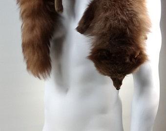 Vintage 1930s Genuine Fox Fur Stole