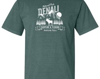 Denali National Park Adventure Comfort Colors T-Shirt